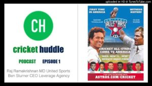 #AllStarsCricketLeague2015 – Cricket Huddle interviews brains bringing Cricket to America