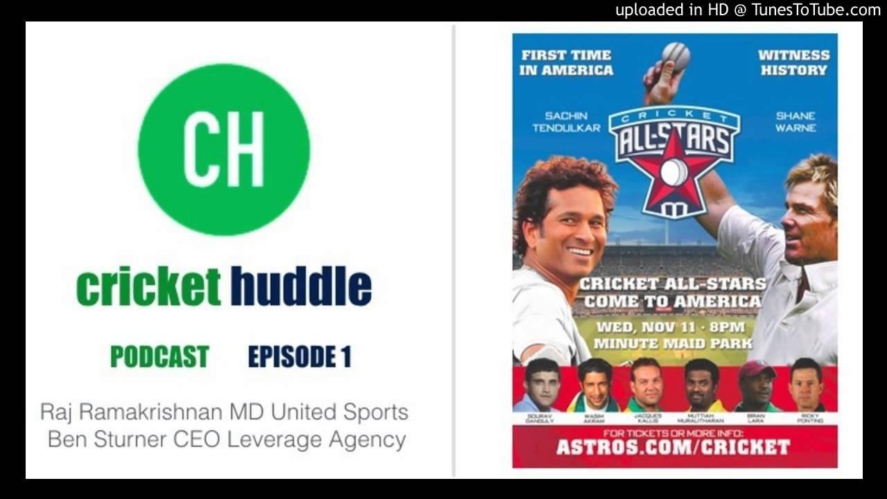 #AllStarsCricketLeague2015 – Cricket Huddle interviews brains bringing Cricket to America